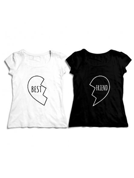 Bff Best Friend Forever Serce Koszulka Po Lewej S Koszulka Po Prawej S Kolor Koszulki Po Lewej Bialy Kolor Koszulki Po Prawej Bialy